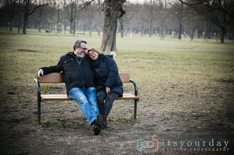 Engagement Shooting im Wiener Prater