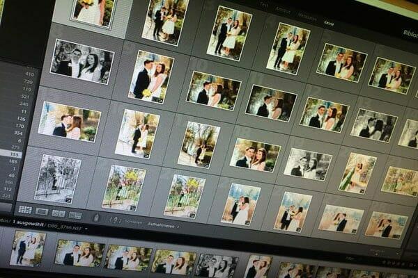 Bildentwicklung von Hochzeitsfotos - ein Exkurs