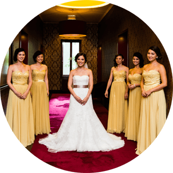 Brautpaar Hochzeitsfoto im Hotel Altstadt