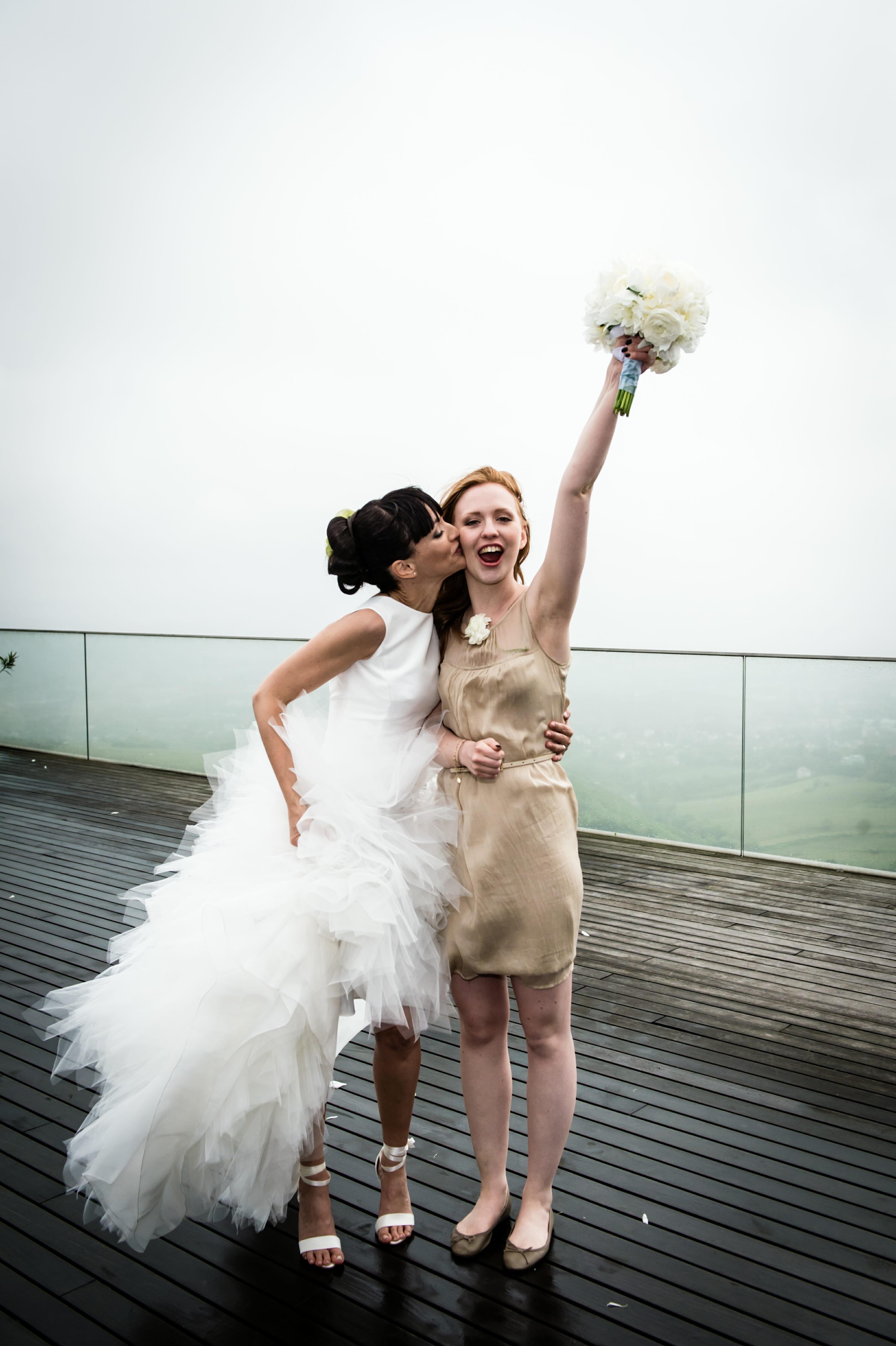 Brautstrausswurf (3)