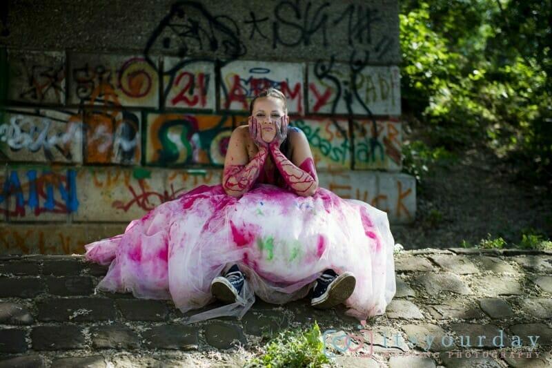 Trash the dress Shooting in Wien