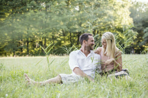 Engagement Shooting im Schlosspark Laxenburg
