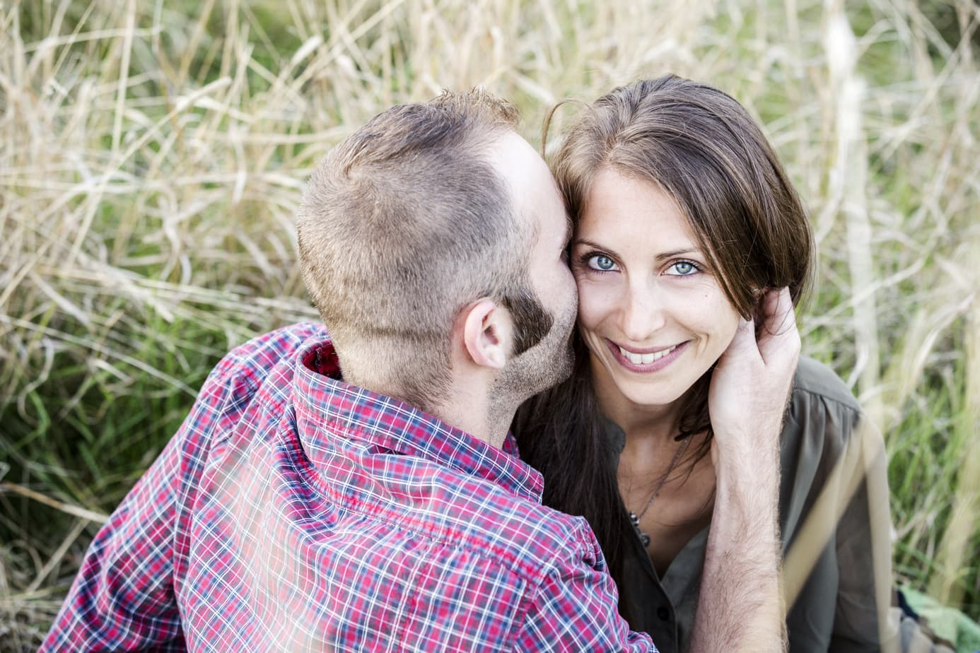 Engagement Shooting in der Herbstsonne