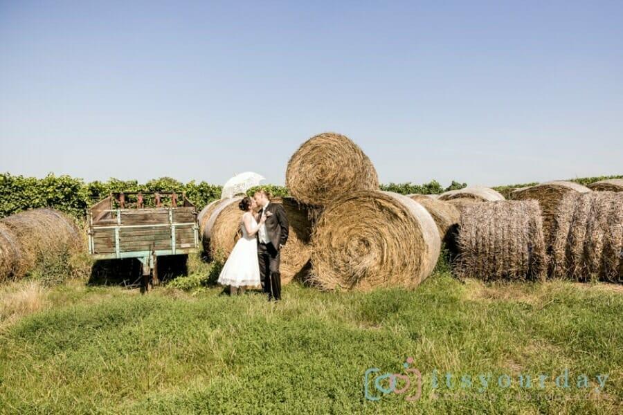 Hochzeit im Garten des Birkenhofs