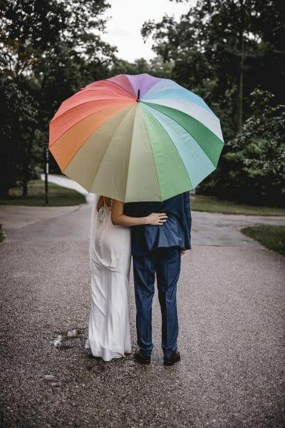 Hochzeitsfoto Regen 01