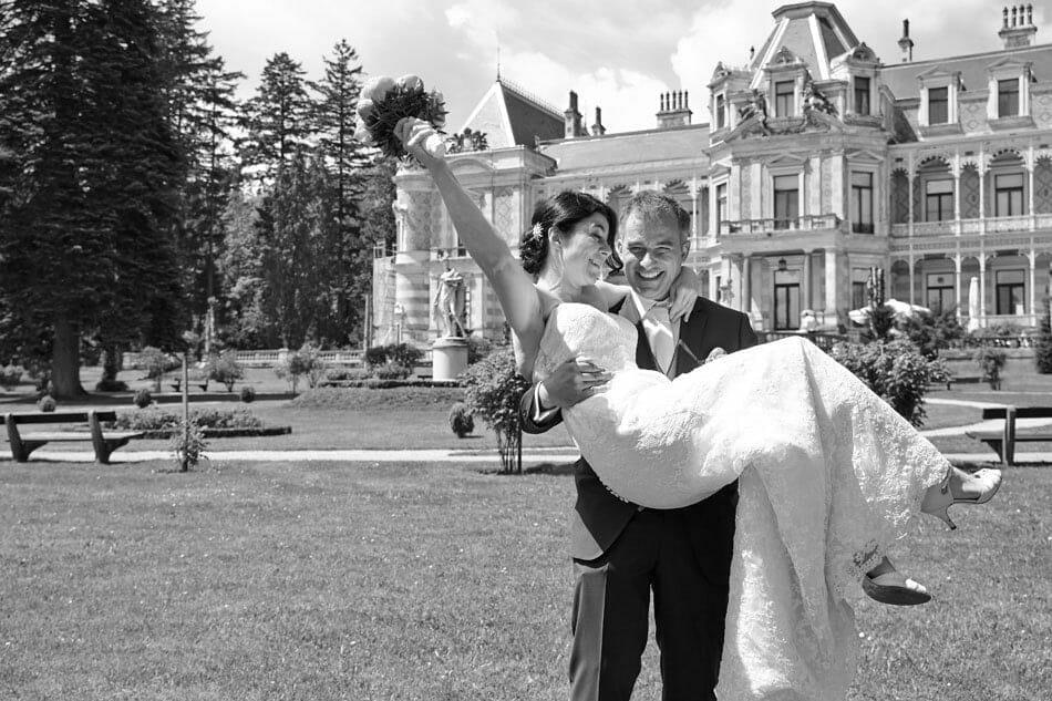 Hochzeitsfoto Hermesvilla
