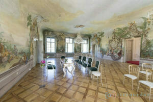 Hochzeitsfoto Schloss Laudon