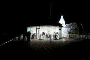 Hochzeit in der Ellipse am Kahlenberg