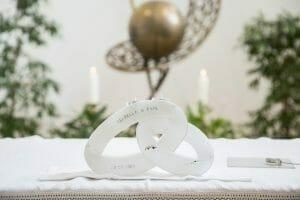 kreative Hochzeitsfotos mit Kerze