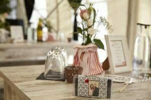 Blumendeko Hochzeitsfotos