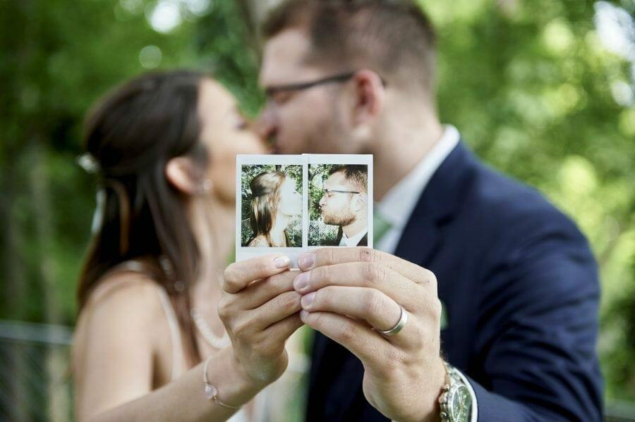 Hochzeitsfoto Hugo-Wolf-Garten