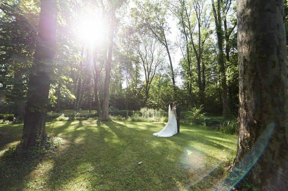 Hochzeitsfoto Schloss St. Margareten am Moos