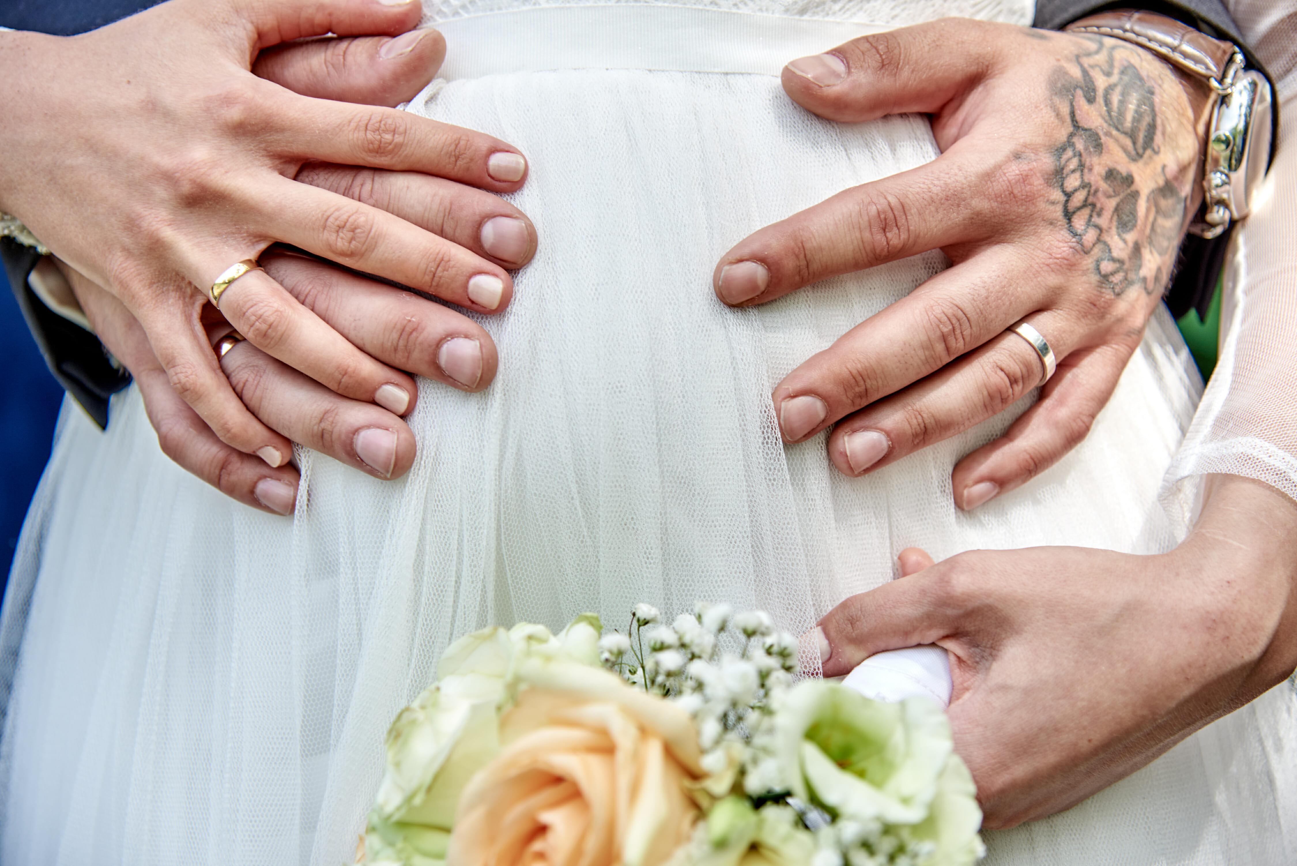 Schwanger heiraten - so gelingen tolle Hochzeitsfotos