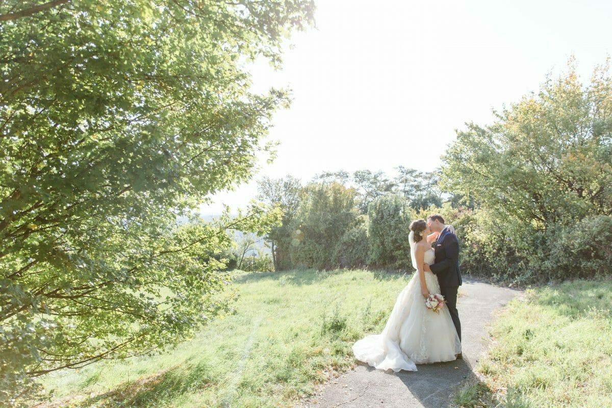 Hochzeitsfotos am Kahlenberg in Wien
