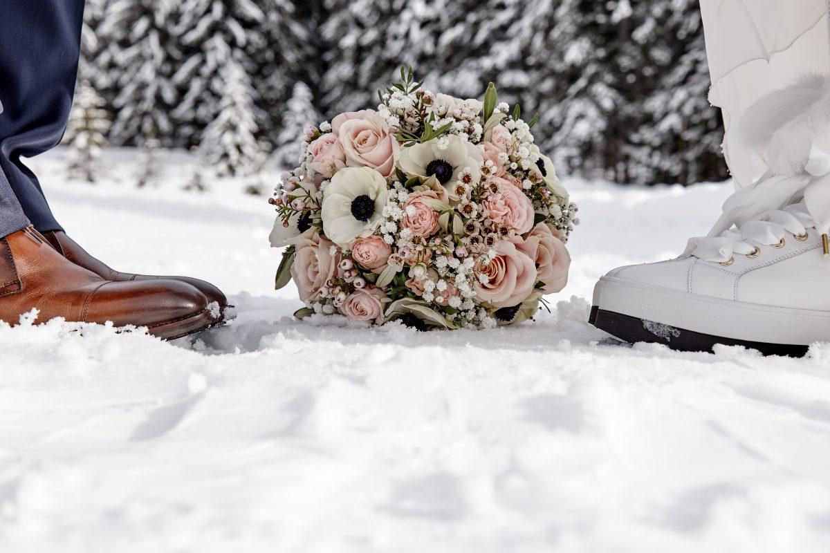 Auch im Winter wenn es schneit ...