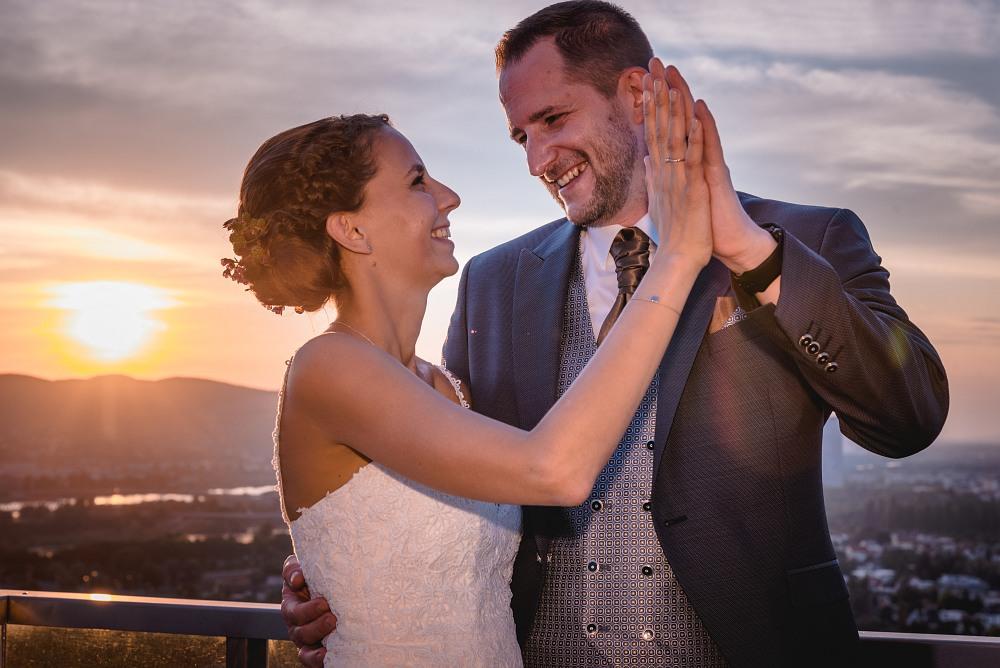 Eine Hochzeit in der Wolke 21