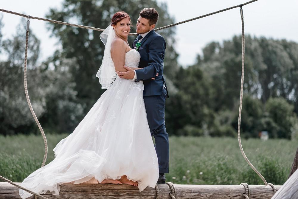 Eine Hochzeit in Essling