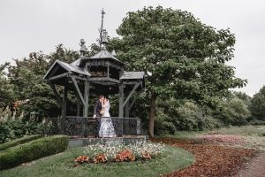 Eine Hochzeit im Schulgarten Kagran